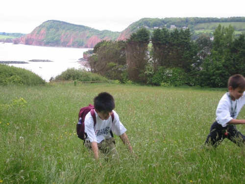 Sidmouth to Seaton -strenuous 10.4 miles