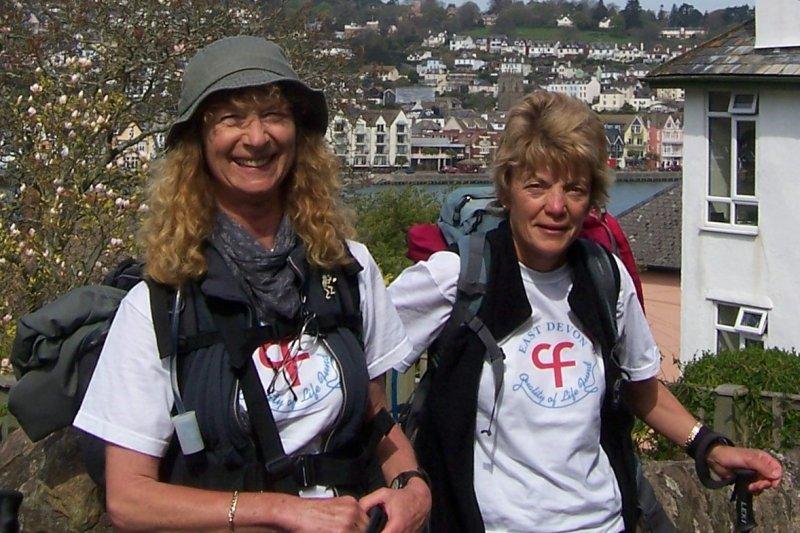 Allison Chalmers & Virginia - Dartmouth to Brixham