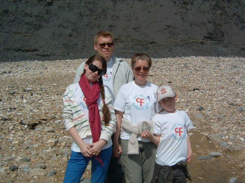 Yapp family Lyme - Charmouth